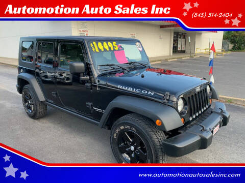 2008 Jeep Wrangler Unlimited for sale at Automotion Auto Sales Inc in Kingston NY