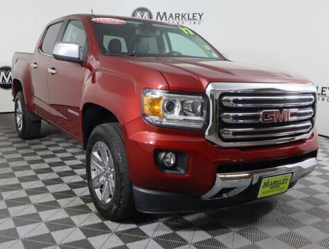 2017 GMC Canyon for sale at Markley Motors in Fort Collins CO