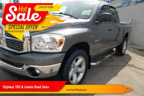 2008 Dodge Ram Pickup 1500 for sale at Highway 100 & Loomis Road Sales in Franklin WI