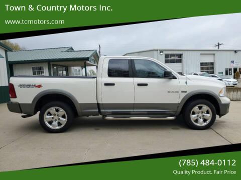 2009 Dodge Ram Pickup 1500 for sale at Town & Country Motors Inc. in Meriden KS
