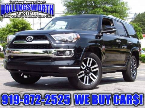 2019 Toyota 4Runner for sale at Hollingsworth Auto Sales in Raleigh NC