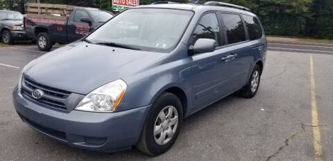2009 Kia Sedona for sale at Central Jersey Auto Trading in Jackson NJ