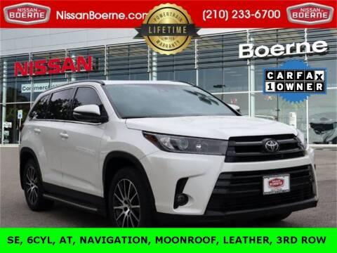 2019 Toyota Highlander for sale at Nissan of Boerne in Boerne TX