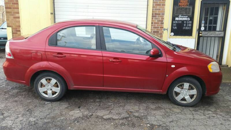 2007 Chevrolet Aveo for sale at 216 Automotive Group in Cleveland OH