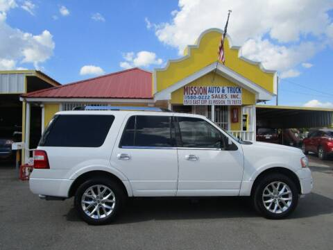 2015 Ford Expedition for sale at Mission Auto & Truck Sales, Inc. in Mission TX
