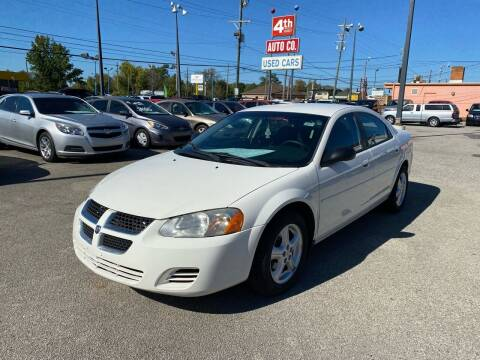 2005 Dodge Stratus for sale at 4th Street Auto in Louisville KY
