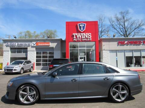 2018 Audi A8 L for sale at Twins Auto Sales Inc in Detroit MI