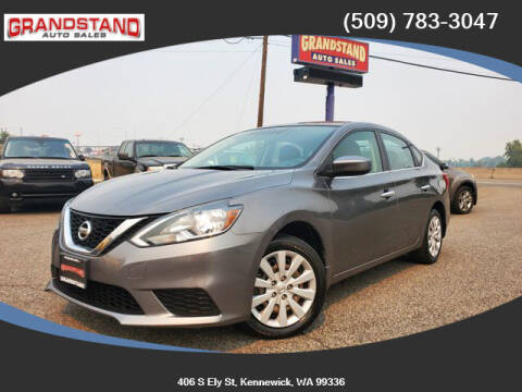 2017 Nissan Sentra for sale at Grandstand Auto Sales in Kennewick WA