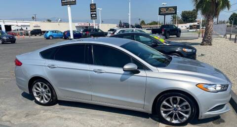 2017 Ford Fusion for sale at Global Auto Group in Fontana CA