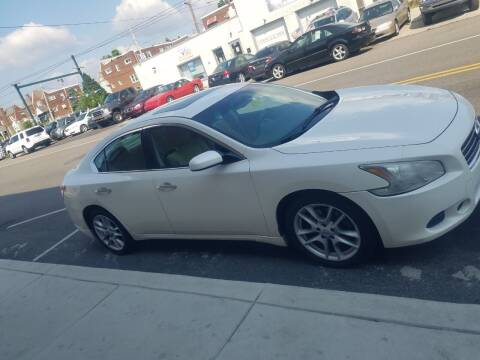 2010 Nissan Maxima for sale at Bottom Line Auto Exchange in Upper Darby PA
