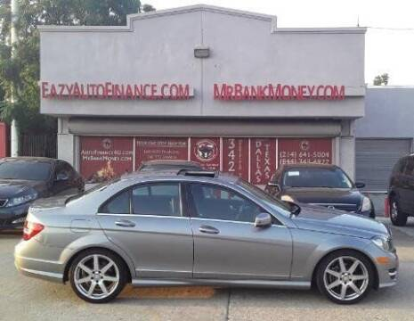 2014 Mercedes-Benz C-Class for sale at Eazy Auto Finance in Dallas TX