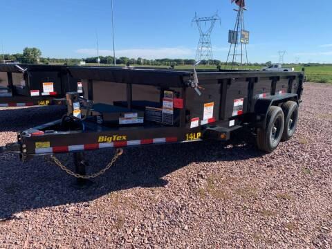 2022 Big Tex 14LP-14 Dump Box #7960 for sale at Prairie Wind Trailers, LLC in Harrisburg SD