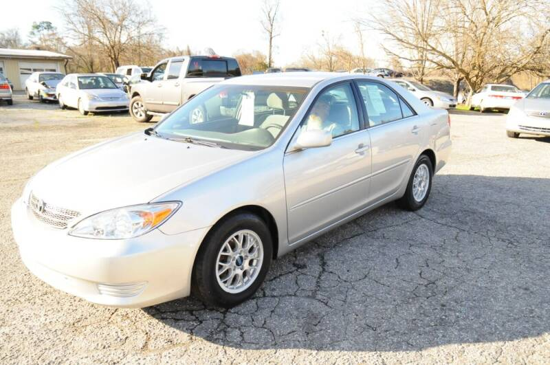 2004 Toyota Camry for sale at RICHARDSON MOTORS USED CARS - Buy Here Pay Here in Anderson SC