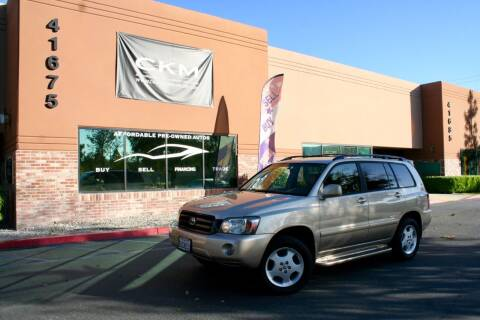 2007 Toyota Highlander for sale at CK Motors in Murrieta CA