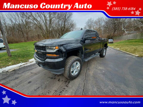 2017 Chevrolet Silverado 1500 for sale at Mancuso Country Auto in Batavia NY