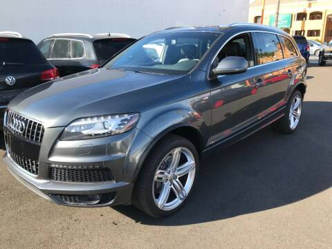 2013 Audi Q7 for sale at Shoppe Auto Plus in Westminster CA