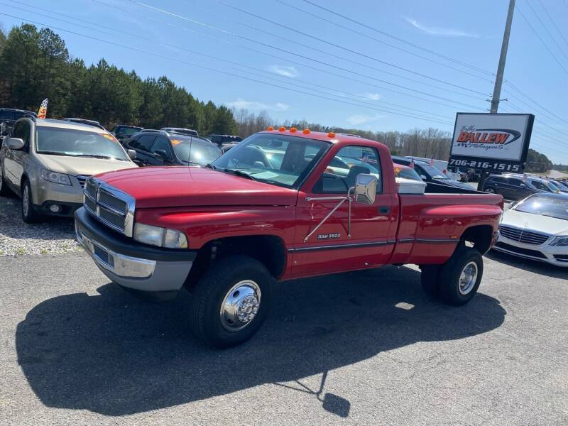 1994 Dodge Ram Pickup 3500 for sale at Billy Ballew Motorsports in Dawsonville GA