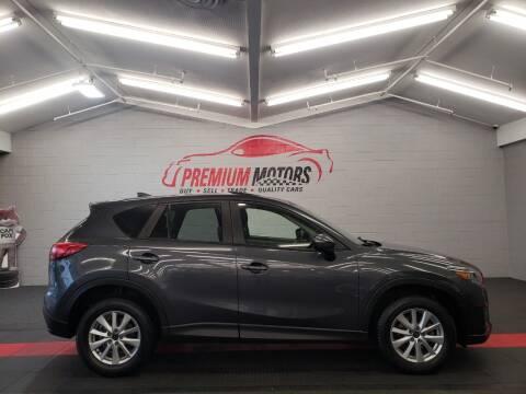 2016 Mazda CX-5 for sale at Premium Motors in Villa Park IL