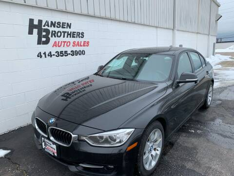 2012 BMW 3 Series for sale at HANSEN BROTHERS AUTO SALES in Milwaukee WI