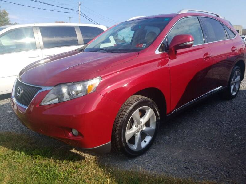 2011 Lexus RX 350 for sale at Cascade Used Auto Sales in Martinsburg WV