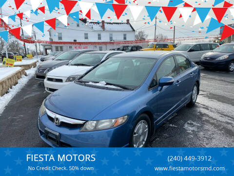 2009 Honda Civic for sale at FIESTA MOTORS in Hagerstown MD