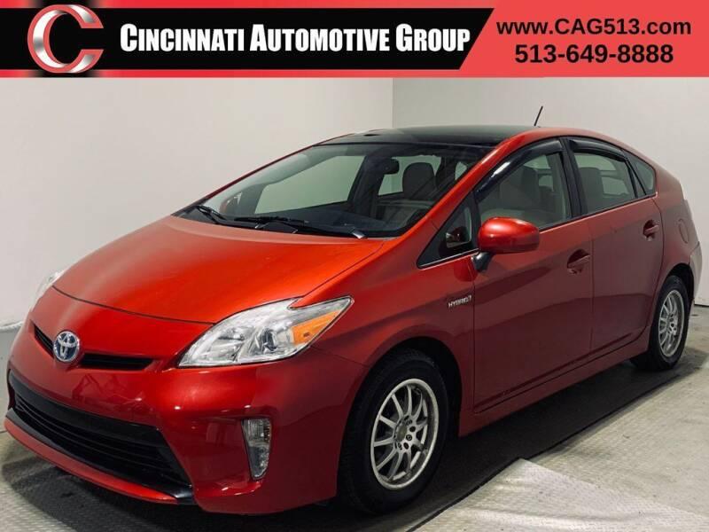 2012 Toyota Prius for sale at Cincinnati Automotive Group in Lebanon OH