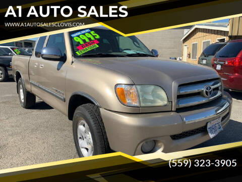 2004 Toyota Tundra for sale at A1 AUTO SALES in Clovis CA