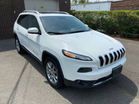 2018 Jeep Cherokee for sale at International Motor Group LLC in Hasbrouck Heights NJ