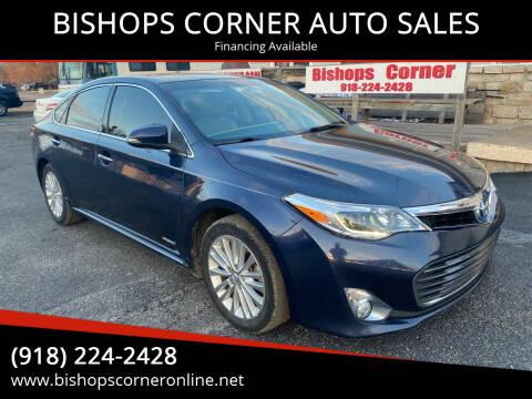 2015 Toyota Avalon Hybrid for sale at BISHOPS CORNER AUTO SALES in Sapulpa OK