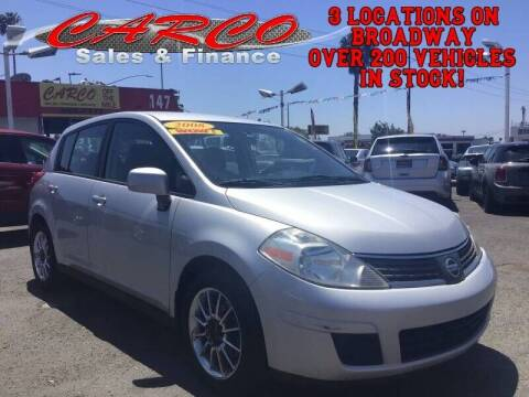 2008 Nissan Versa for sale at CARCO SALES & FINANCE - Under 7000 in Chula Vista CA