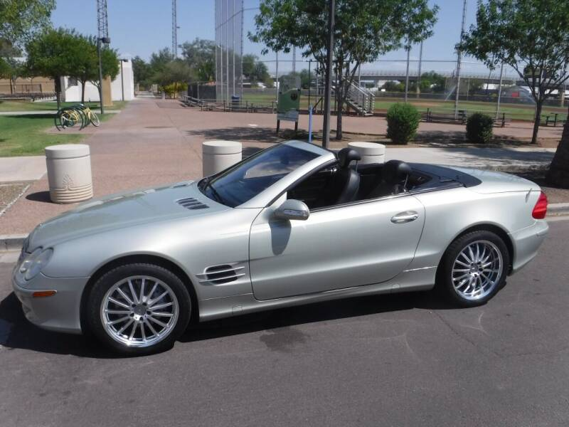 2003 Mercedes-Benz SL-Class for sale at J & E Auto Sales in Phoenix AZ