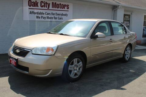 2008 Chevrolet Malibu Classic for sale at Oak City Motors in Garner NC