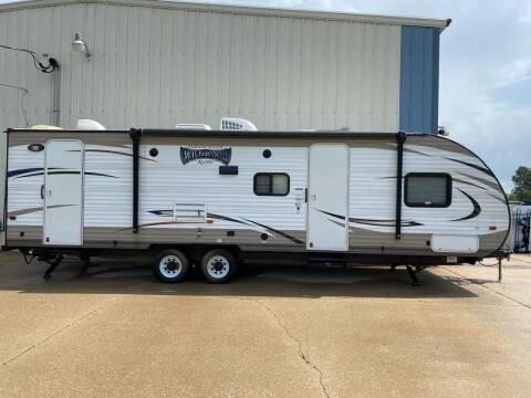 2017 Forest River Wildwood 263 BHXL for sale at MJ'S Sales in O'Fallon MO