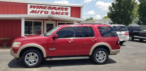 2008 Ford Explorer for sale at WIREGRASS AUTO SALES in Dothan AL