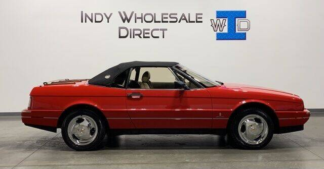 1990 Cadillac Allante for sale at Indy Wholesale Direct in Carmel IN