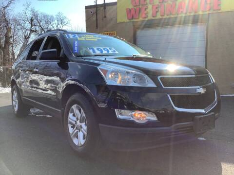 2012 Chevrolet Traverse for sale at Active Auto Sales Inc in Philadelphia PA