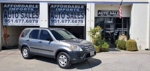 2005 Honda CR-V for sale at Affordable Imports Auto Sales in Murrieta CA