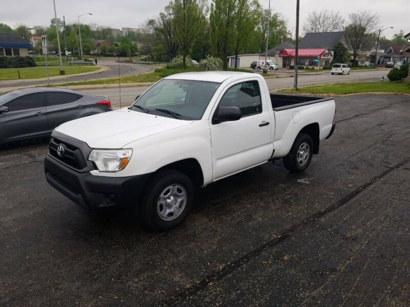 2014 Toyota Tacoma for sale at Indiana Auto Sales Inc in Bloomington IN