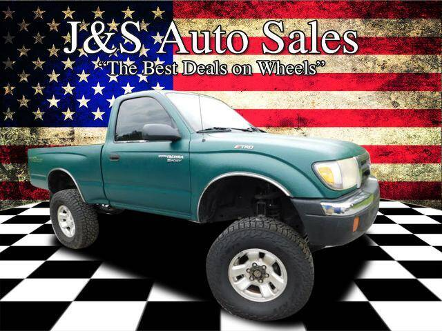 2000 Toyota Tacoma for sale at J & S Auto Sales in Clarksville TN