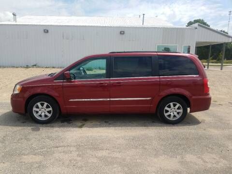 2012 Chrysler Town and Country for sale at Steve Winnie Auto Sales in Edmore MI