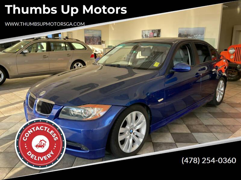 2007 BMW 3 Series for sale at Thumbs Up Motors in Warner Robins GA