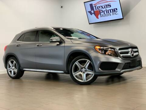 2015 Mercedes-Benz GLA for sale at Texas Prime Motors in Houston TX