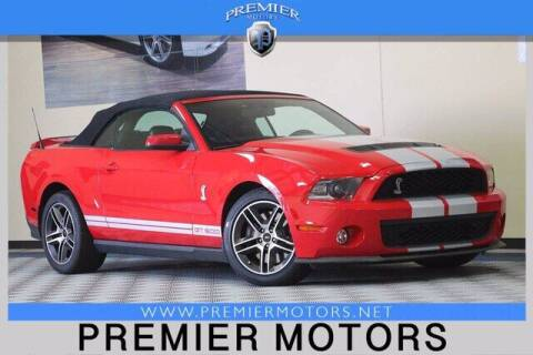 2010 Ford Shelby GT500 for sale at Premier Motors in Hayward CA