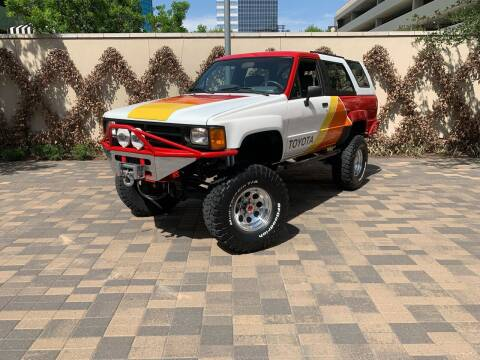 1987 Toyota 4Runner for sale at ROGERS MOTORCARS in Houston TX