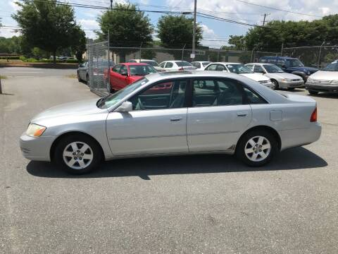 2002 Toyota Avalon for sale at Mike's Auto Sales of Charlotte in Charlotte NC