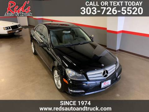 2013 Mercedes-Benz C-Class for sale at Red's Auto and Truck in Longmont CO