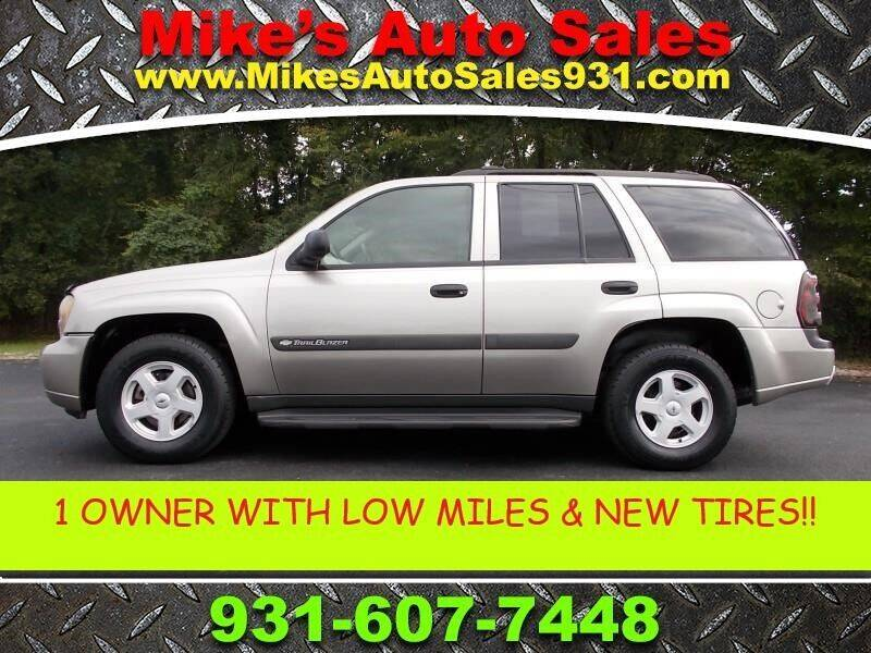 2003 Chevrolet TrailBlazer for sale at Mike's Auto Sales in Shelbyville TN