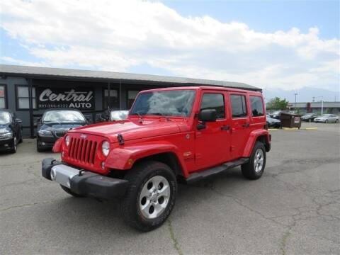 2015 Jeep Wrangler Unlimited for sale at Central Auto in South Salt Lake UT