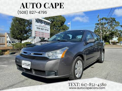 2011 Ford Focus for sale at Auto Cape in Hyannis MA