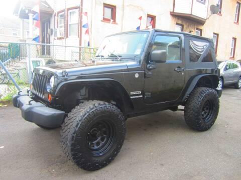 2012 Jeep Wrangler for sale at Cali Auto Sales Inc. in Elizabeth NJ